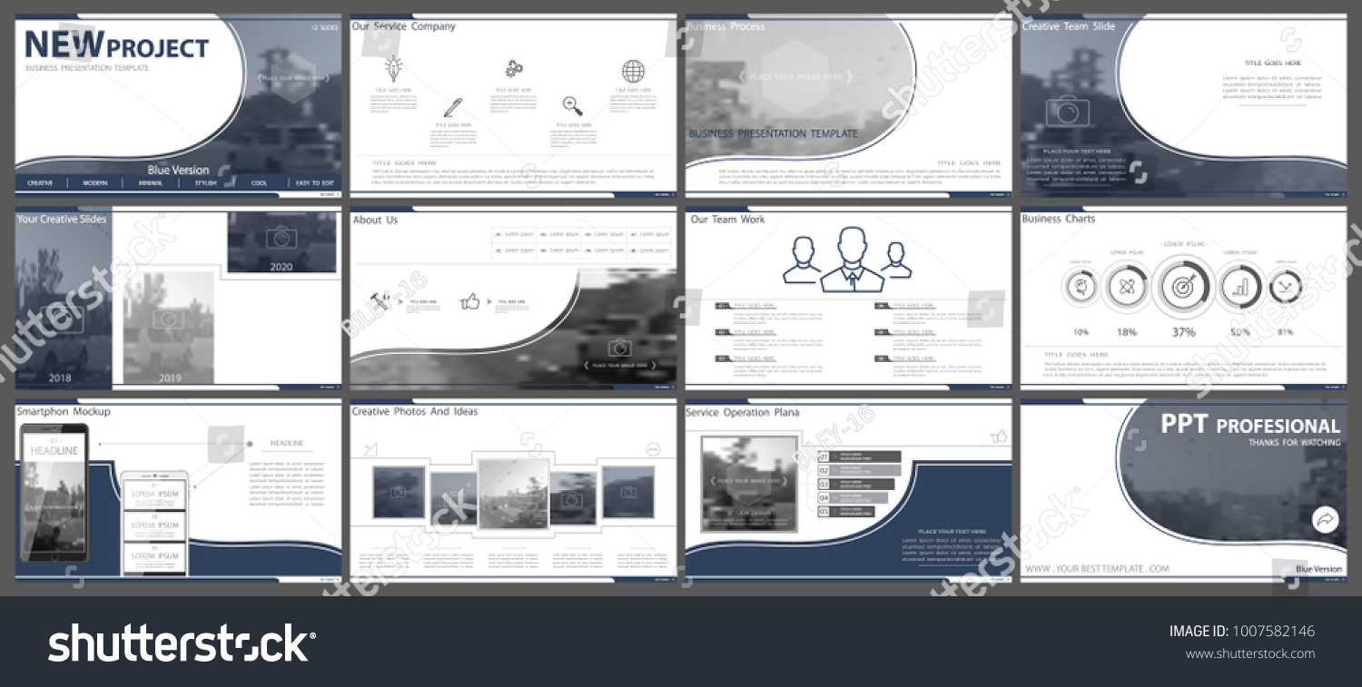 Presentation Business Advertising PPT Template Powerpoint Stock ...