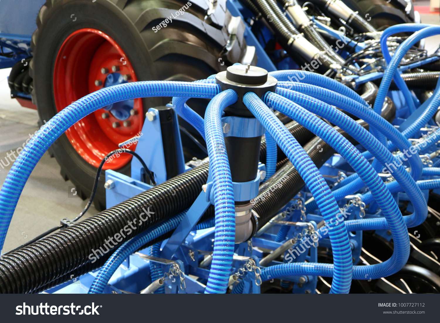 Precision Inline Seeder Row Seeder Seed Stock Photo (Edit