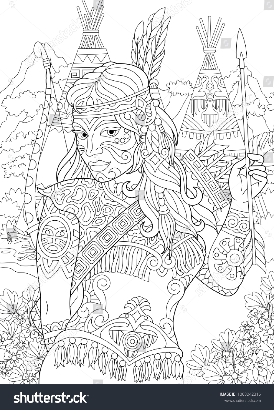 amazing navajo coloring pages – lifewiththepeppers.com | 1600x1071