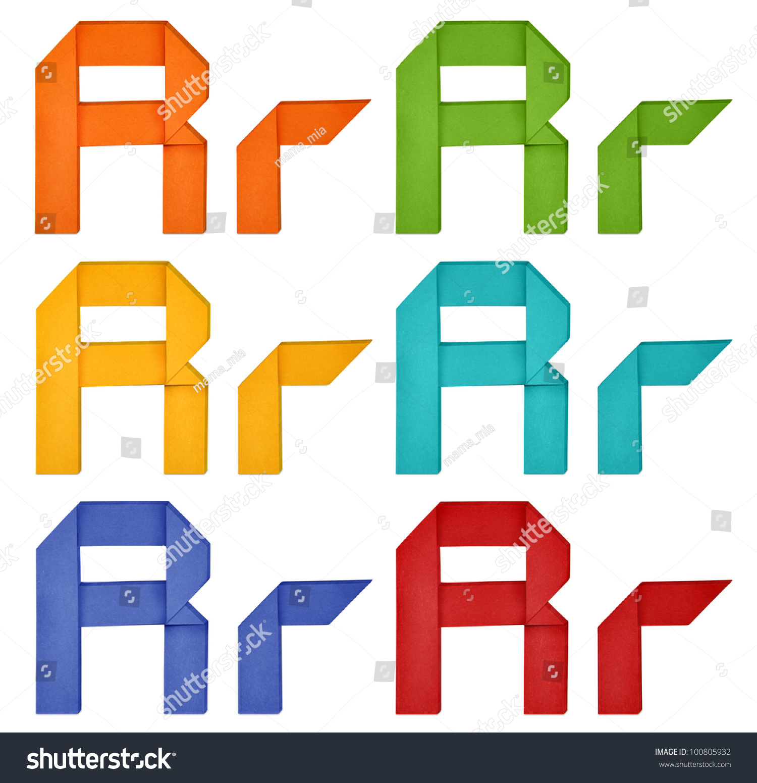 "Set Of Capital Letter And Lowercase Letter ""R"" In Various ... - photo#22"