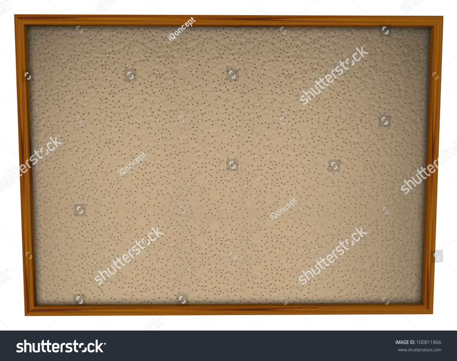 Blank bulletin board wood frame lots stock illustration 100811866 a blank bulletin board in wood frame and lots of space for you to place pictures jeuxipadfo Choice Image