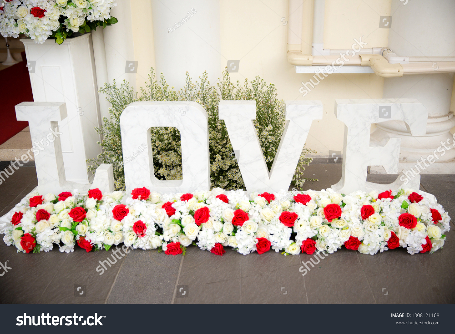 Alphabets l o v e word stock photo download now 1008121168 alphabets l o v e the word love for wedding decoration junglespirit Image collections