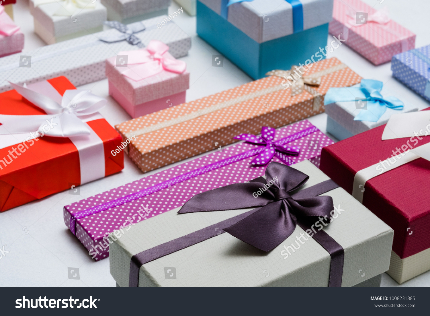 Present Wrapping Craft Creative Ideas Gifts Stock Photo (Edit Now ...