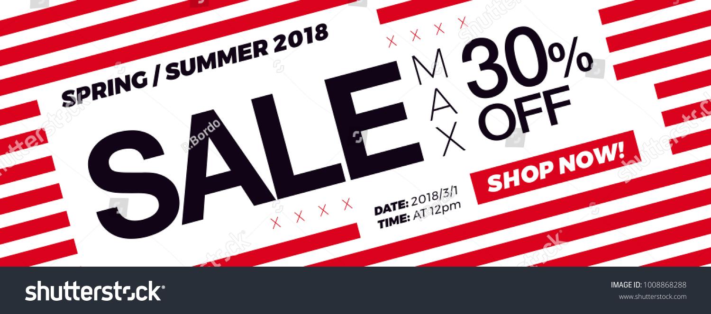 30 Off Price Sale Promotion Campaign Image Vectorielle De Stock
