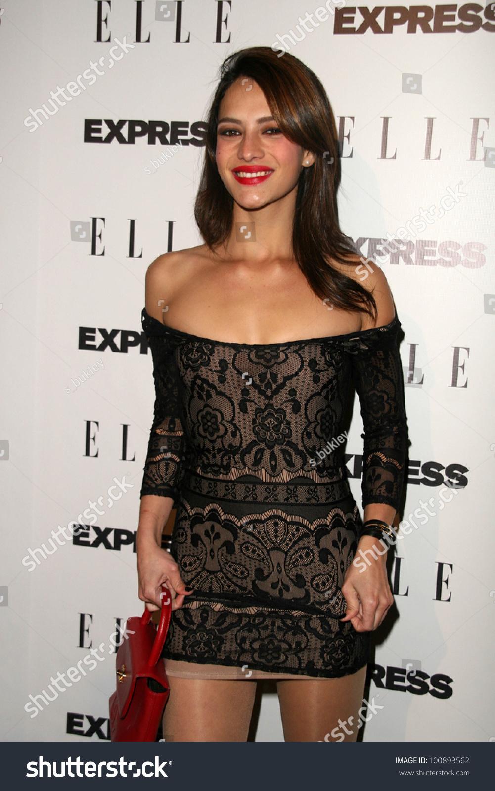 Sandra Vergara ELLE Express 25 25 Stockfoto (Jetzt bearbeiten ...
