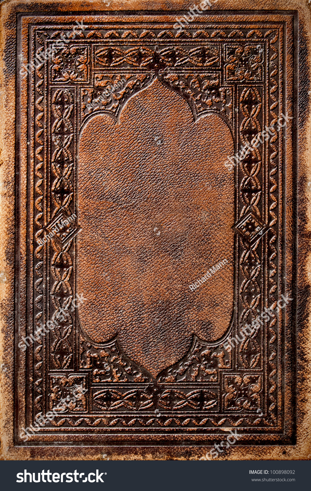 Old Book Cover Stock Photo 100898092 Shutterstock