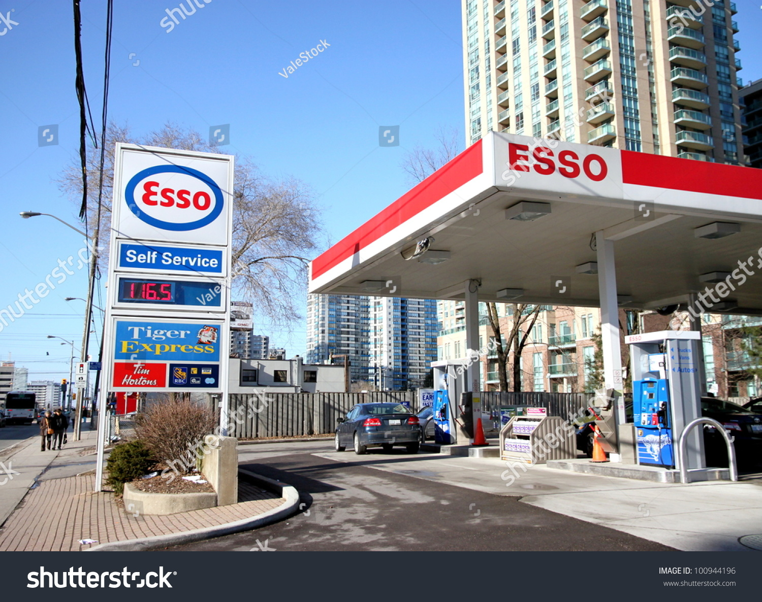 esso canada credit card application