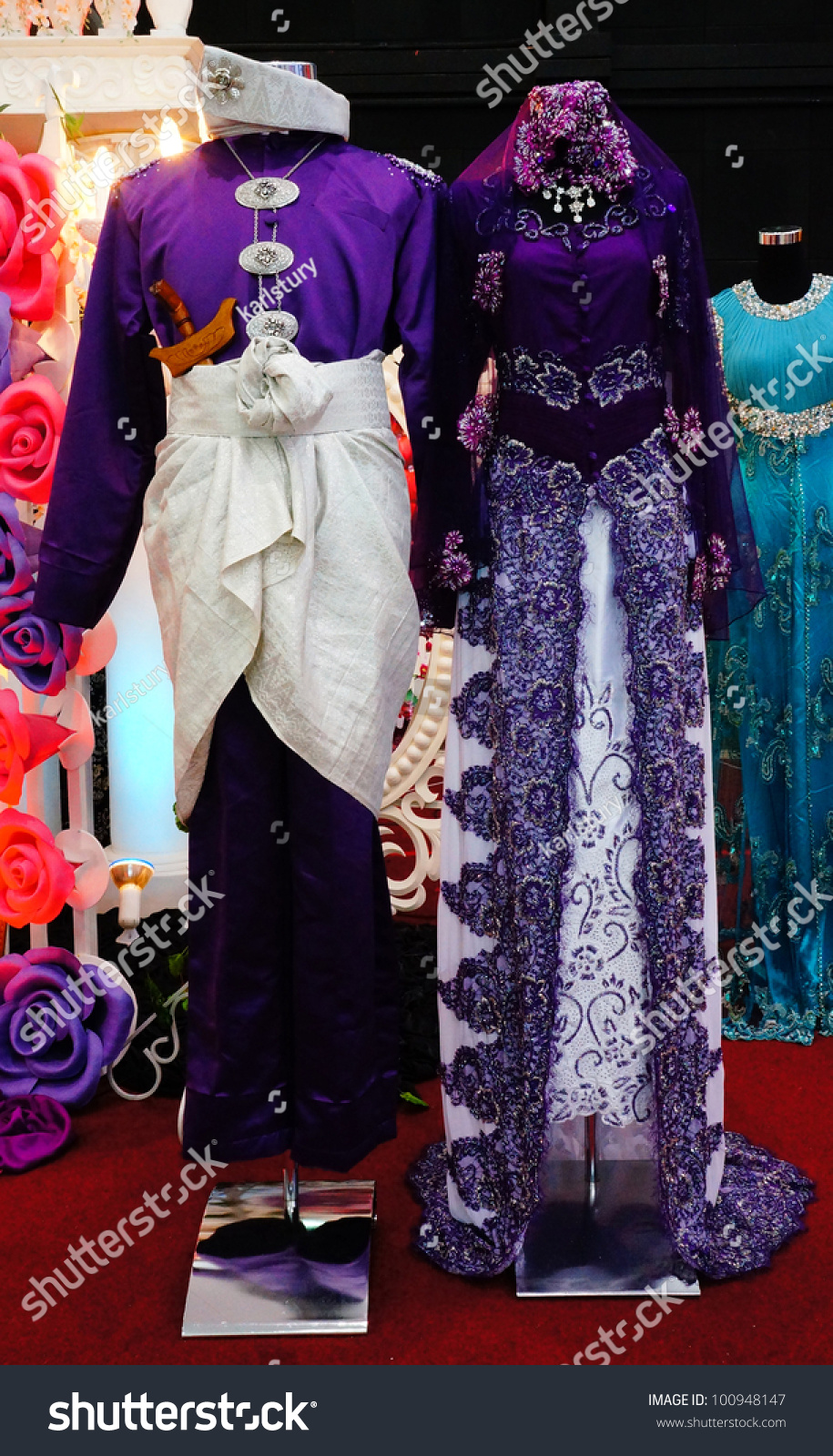 Traditional Wedding Dresses of Malaysia