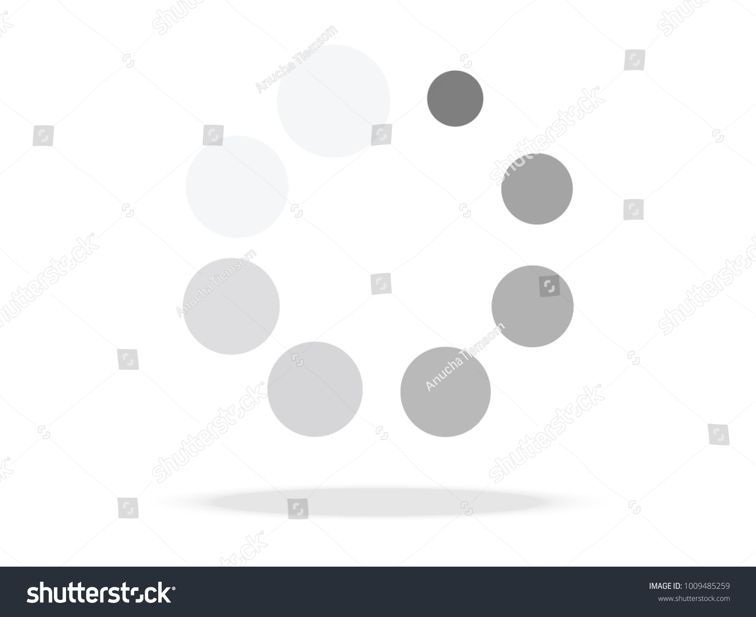 Loading symbol abstract spinner icon web stock vector 1009485259 loading symbol abstract spinner icon for web page design vector illustration biocorpaavc Image collections