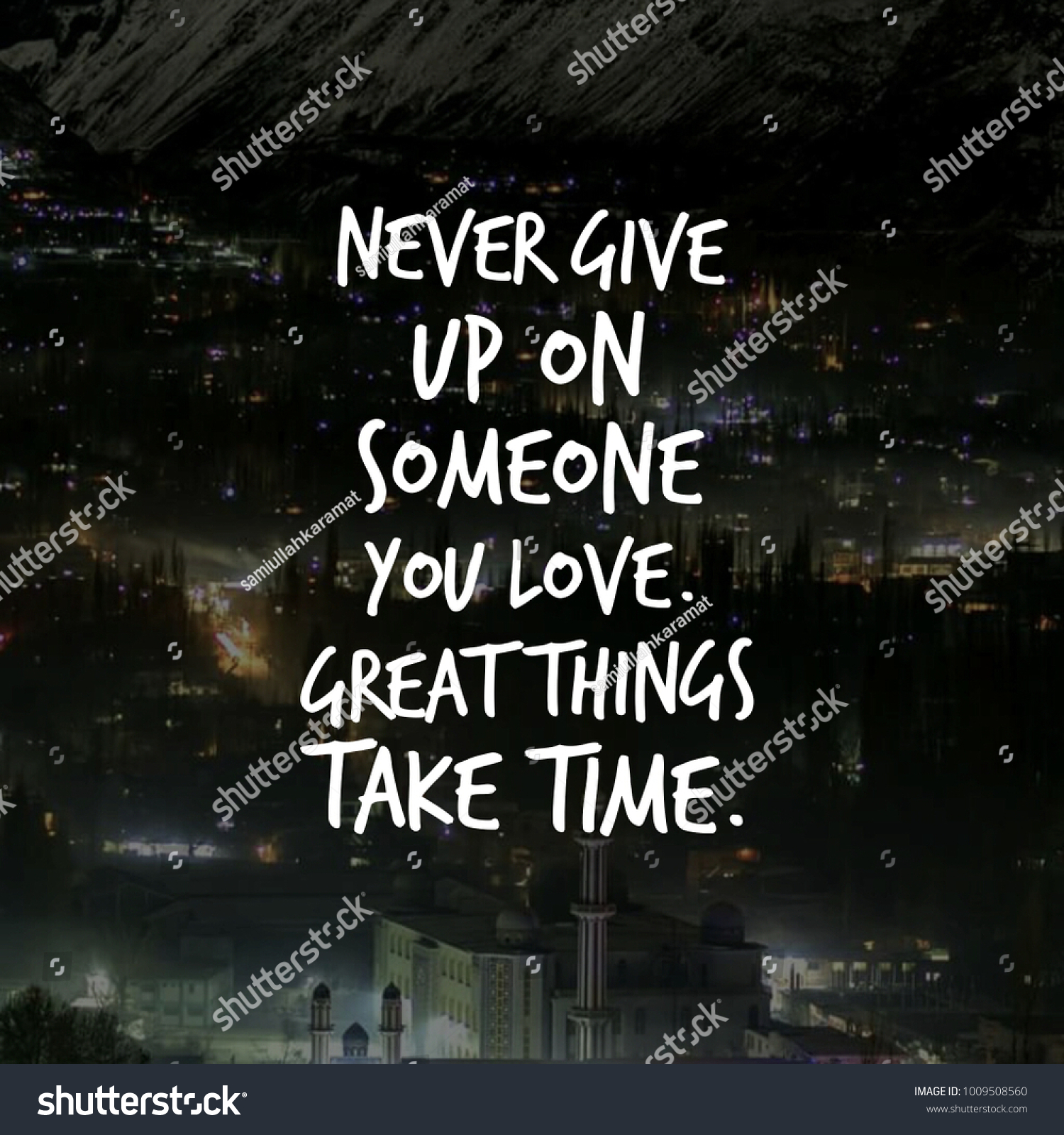 Love Quotes Your Love Ones Stock Photo Edit Now 1009508560