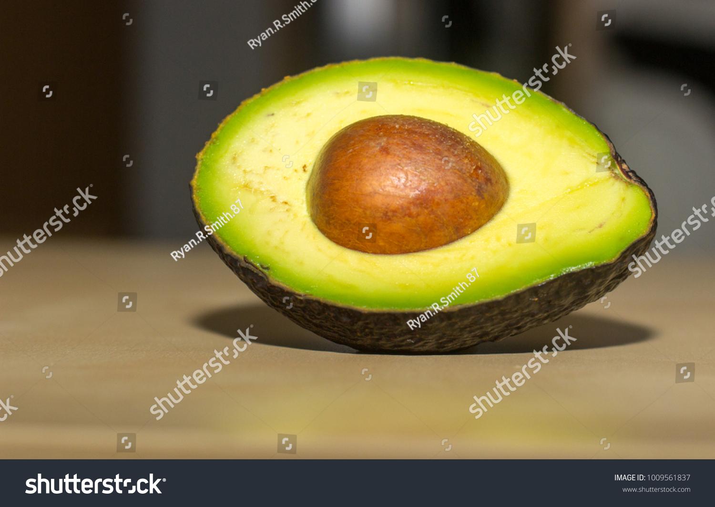 Close Shot Avocado Stock Photo (Edit Now) 1009561837