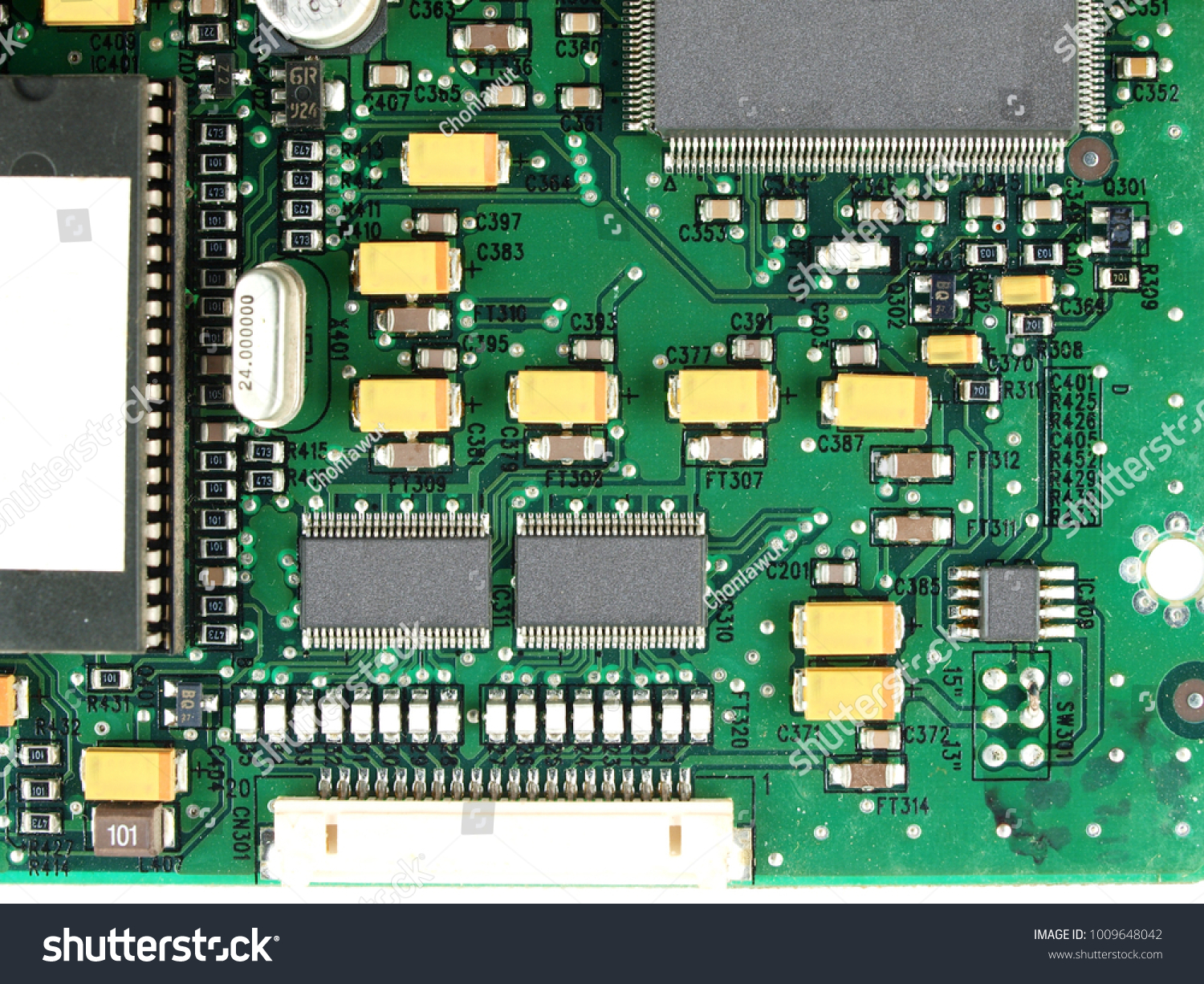 Micro Computer Electronics Circuit Board Using Stock Photo Edit Now How To Recycle Boards Contemporary Smd Surface Mounted Devices Parts Closeup Used Old