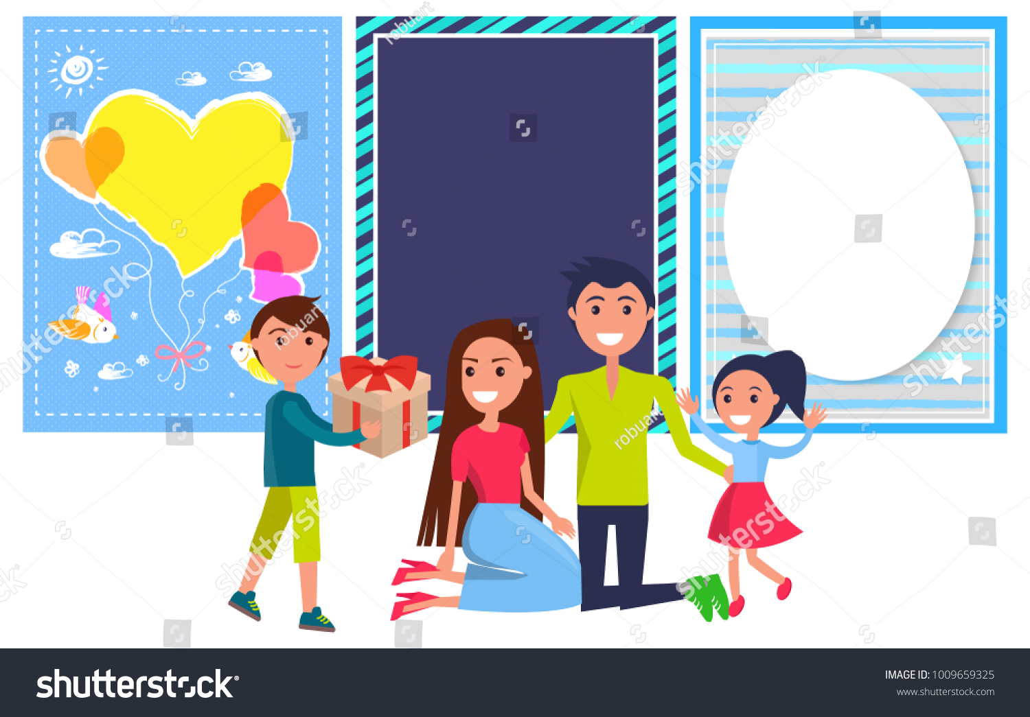 Royalty Free Stock Illustration Of Happy Friendship Day Banner