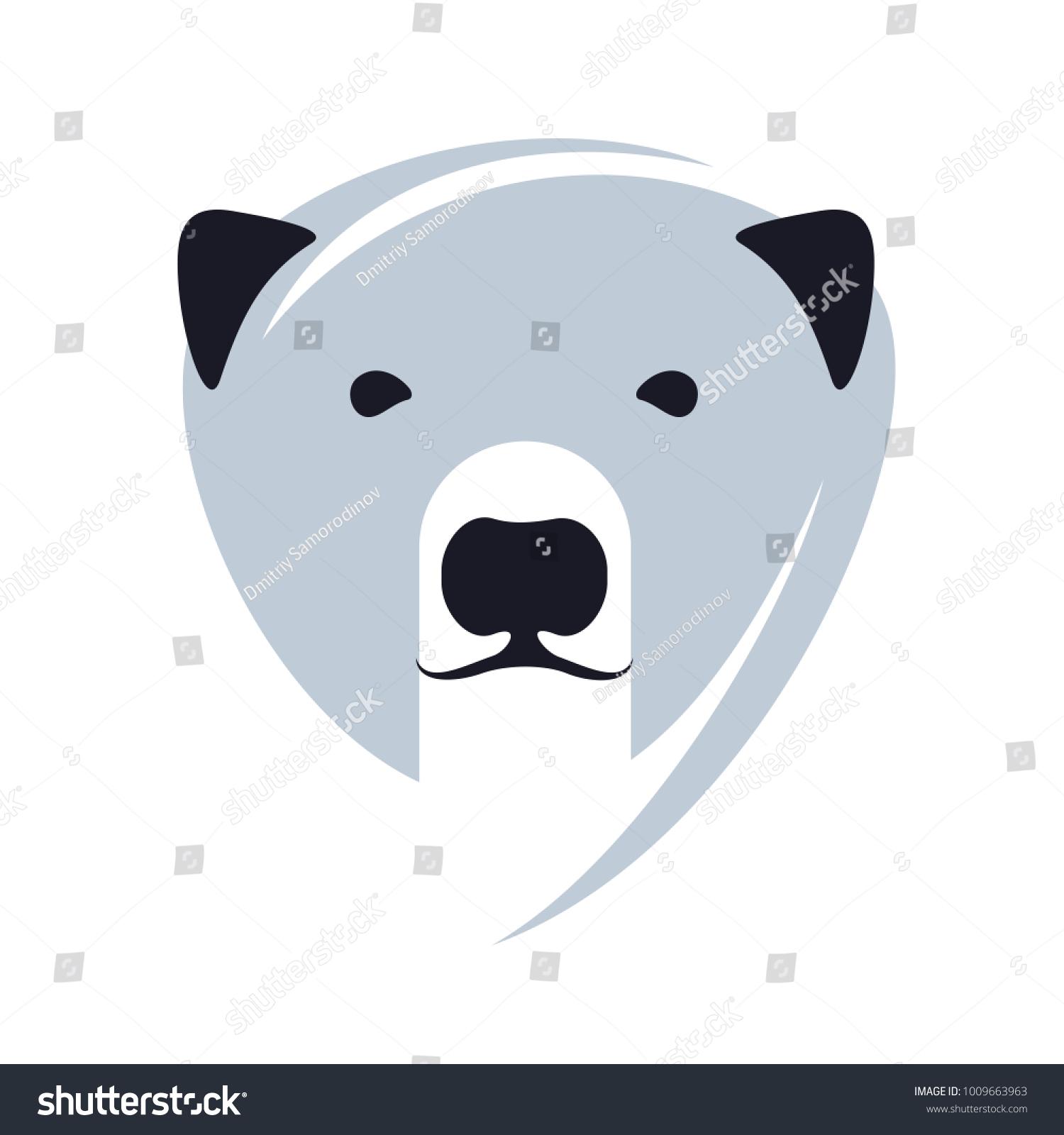 Stylized graphic polar bear logo templates stock illustration stylized graphic polar bear logo templates collection of creative polar bear logotype templates growth maxwellsz