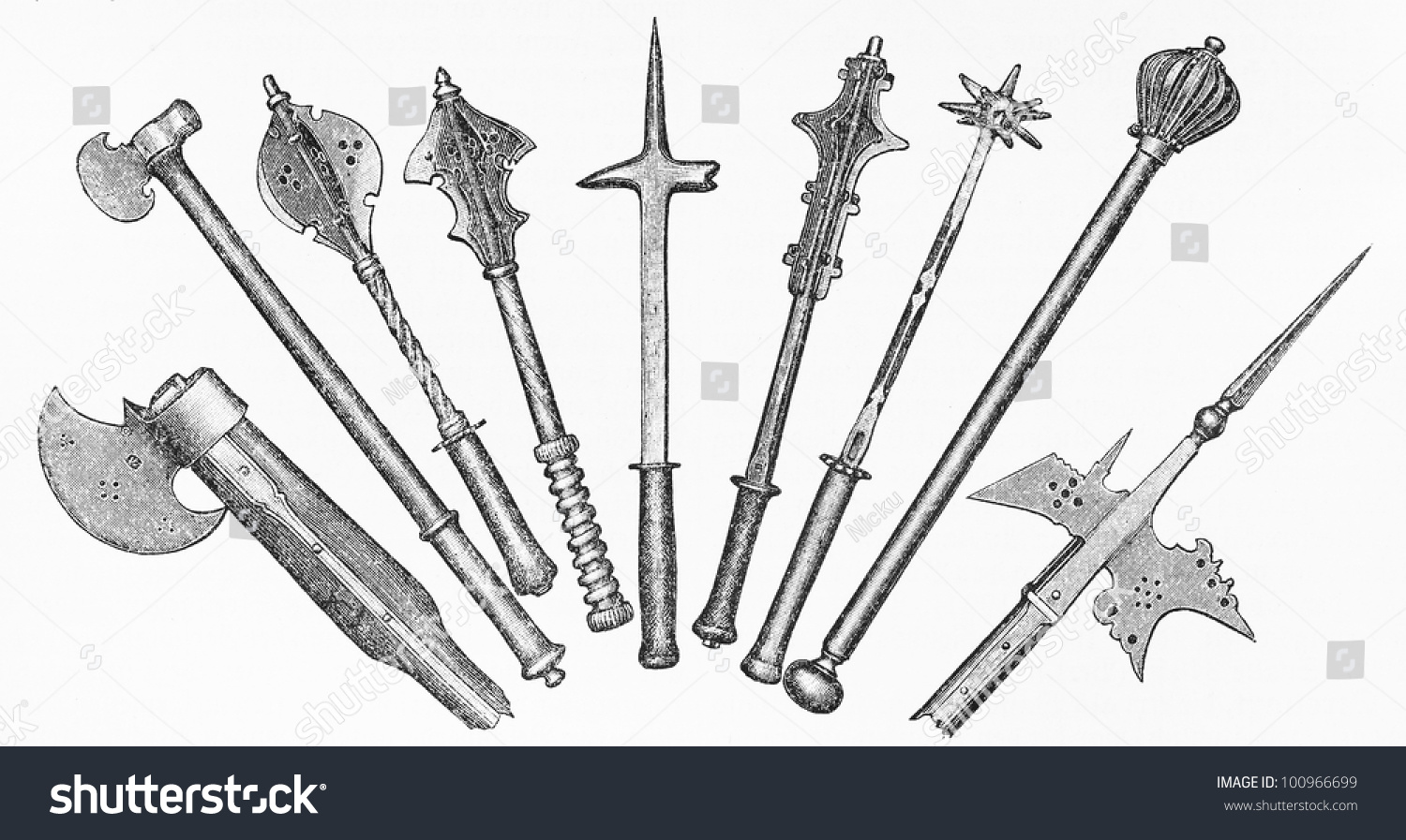 weapons of medieval europe The medieval knight was usually mounted and armoured, often connected with nobility or royalty, although especially in north-eastern europe knights could also come from the.