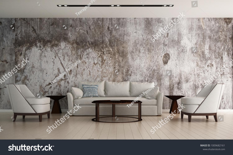 3d Rendering Interior Design Modern ...