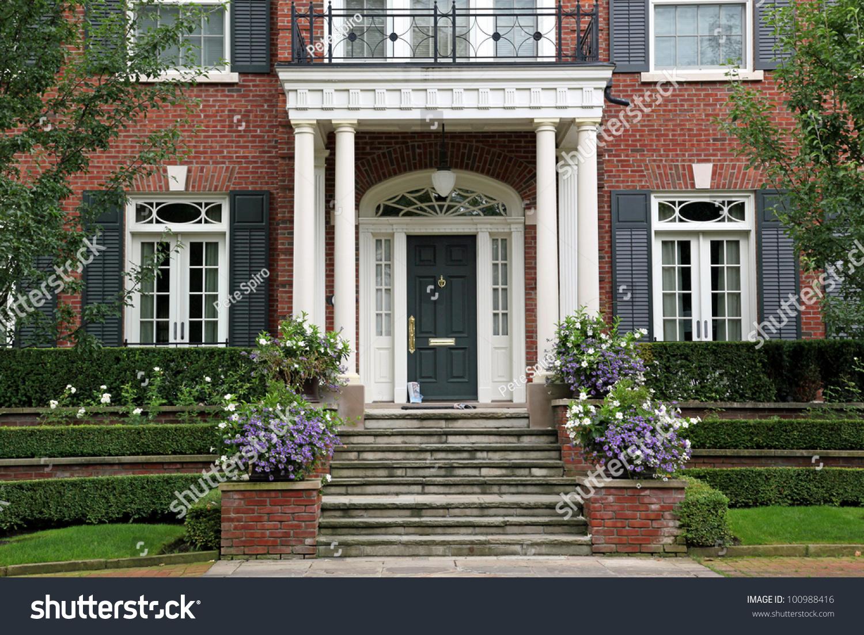 House Entrance Stock Photo 100988416 - Shutterstock