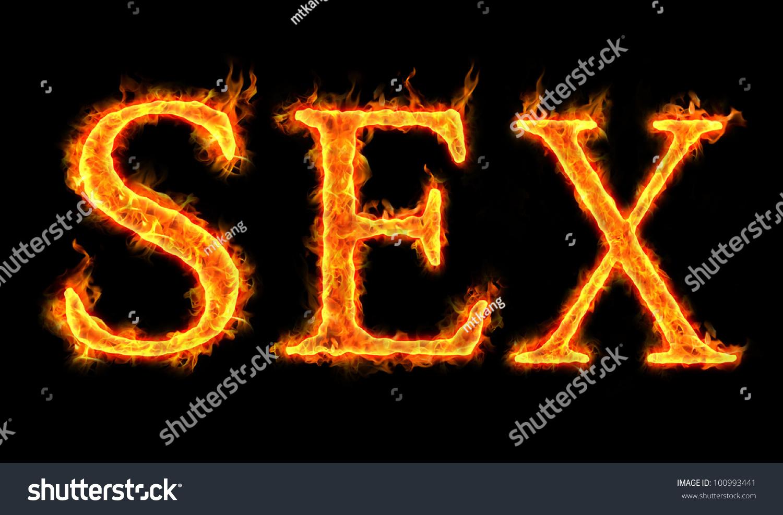 Sex words burning fire effect conceptual stock illustration sex words in burning fire effect for conceptual usage buycottarizona
