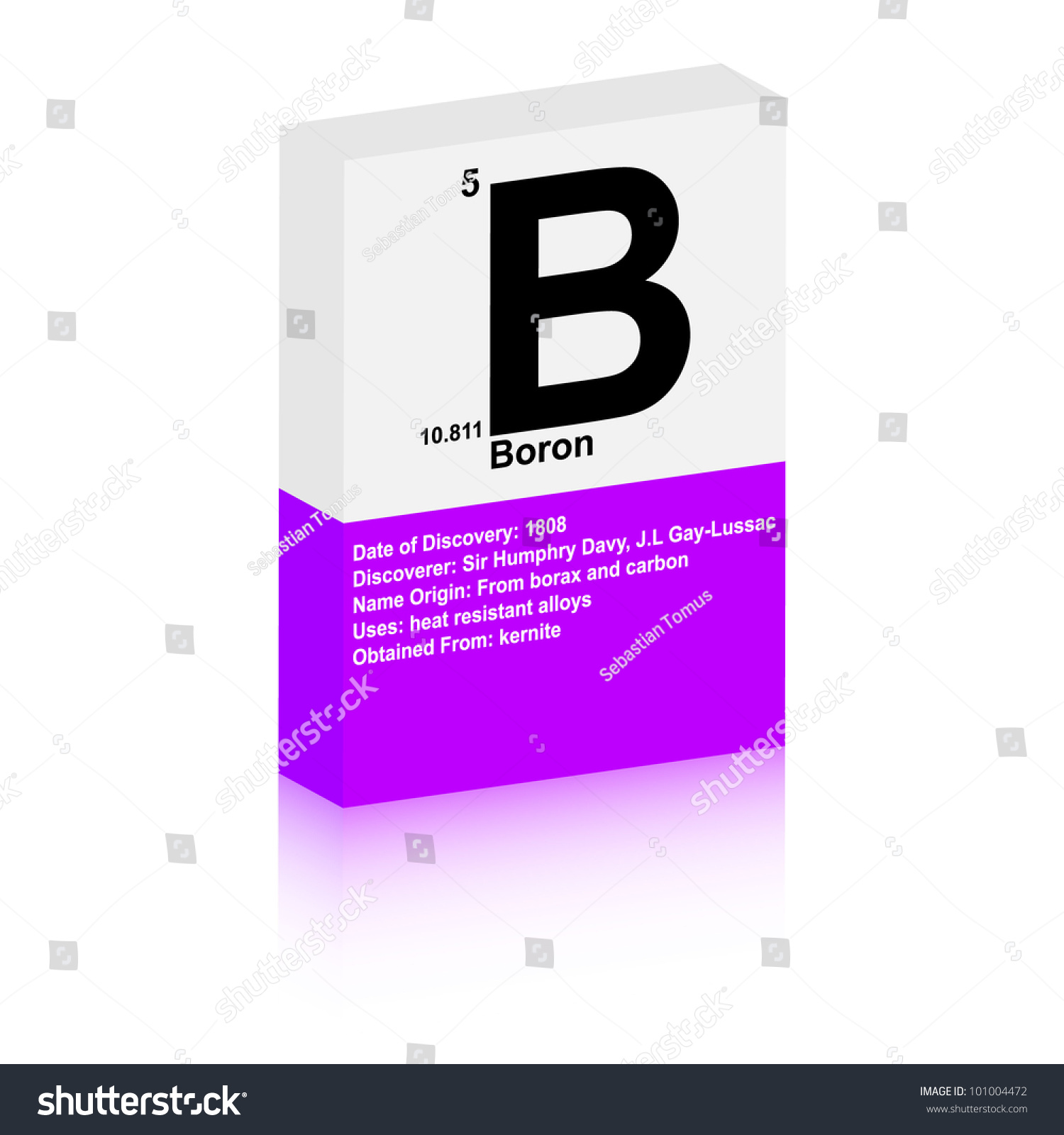 The symbol of boron images symbol and sign ideas boron symbol stock vector 101004472 shutterstock boron symbol buycottarizona buycottarizona