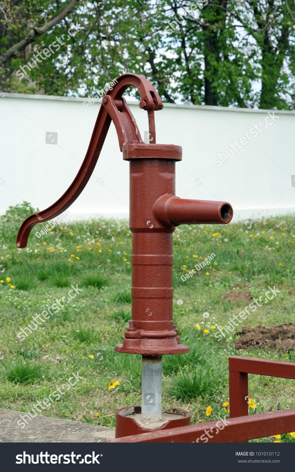Vintage Water Pipe Vintage Water Tap Stock Photo (Download Now ...