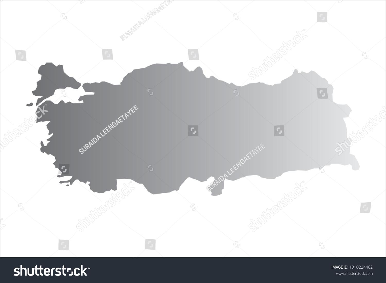 Map of Turkey.Vector illustration. | EZ Canvas