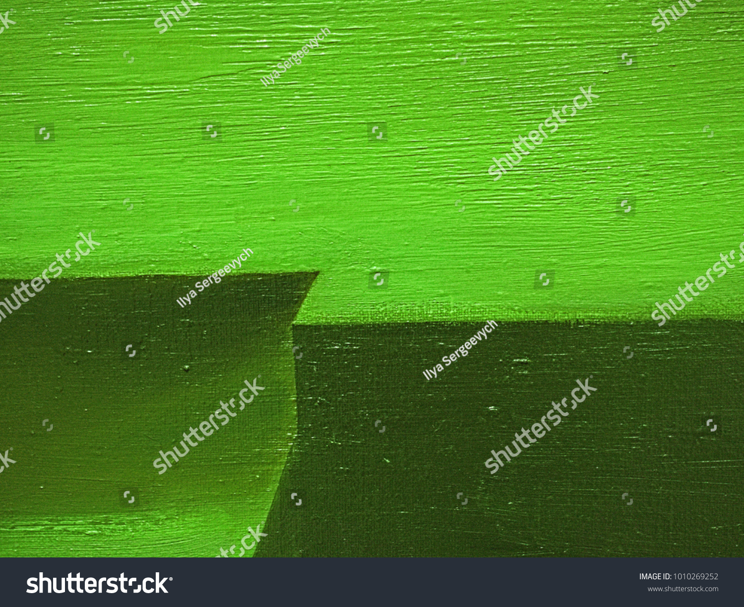 Canvas Hand Drawn Abstract Pale Green Stock Illustration 1010269252 ...