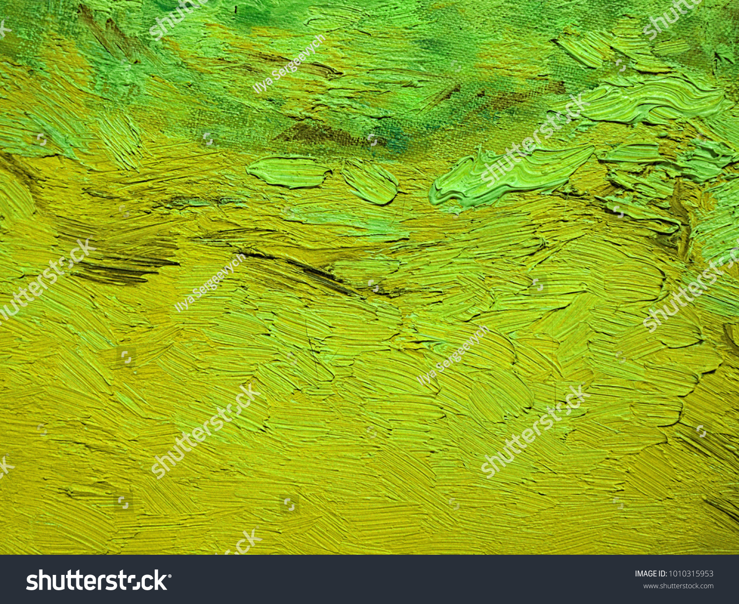 Canvas Hand Drawn Abstract Pale Green Stock Illustration 1010315953 ...
