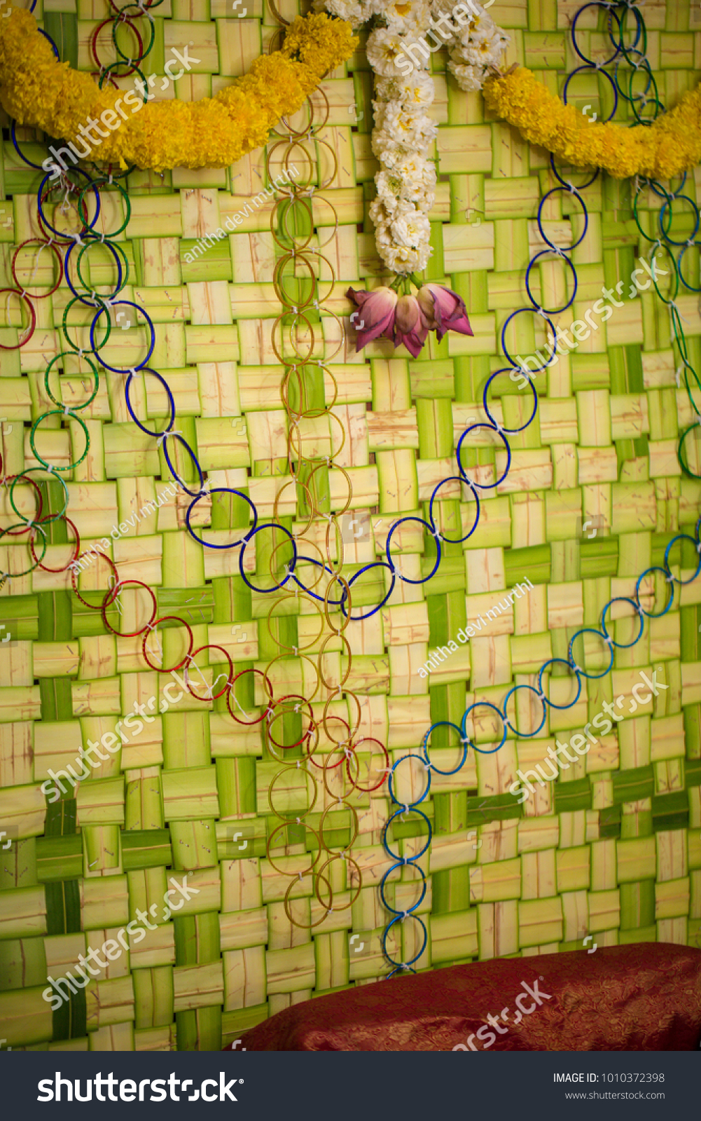 South Indian Decoration Baby Shower Festival Stock Photo Edit Now 1010372398