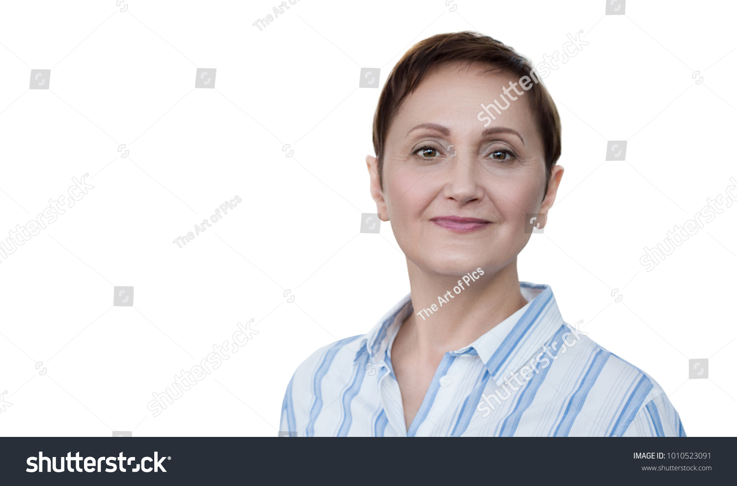 business woman professional portrait middle aged stock photo