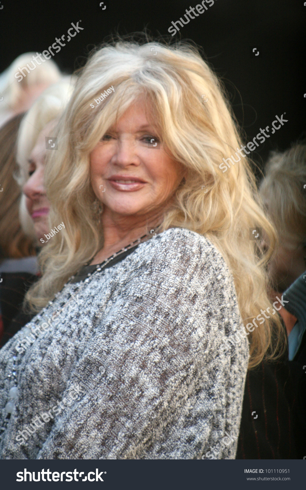Connie Stevens at Bruce Dern, Laura Dern and Diane Ladd Honored with Stars on the Hollywood Walk of Fame, Hollywood, CA. 11-01-10