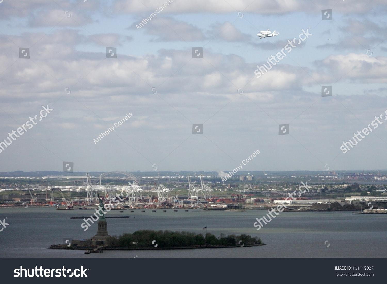 New York April 27 Nasa Jet Stock Photo (Edit Now) 101119027