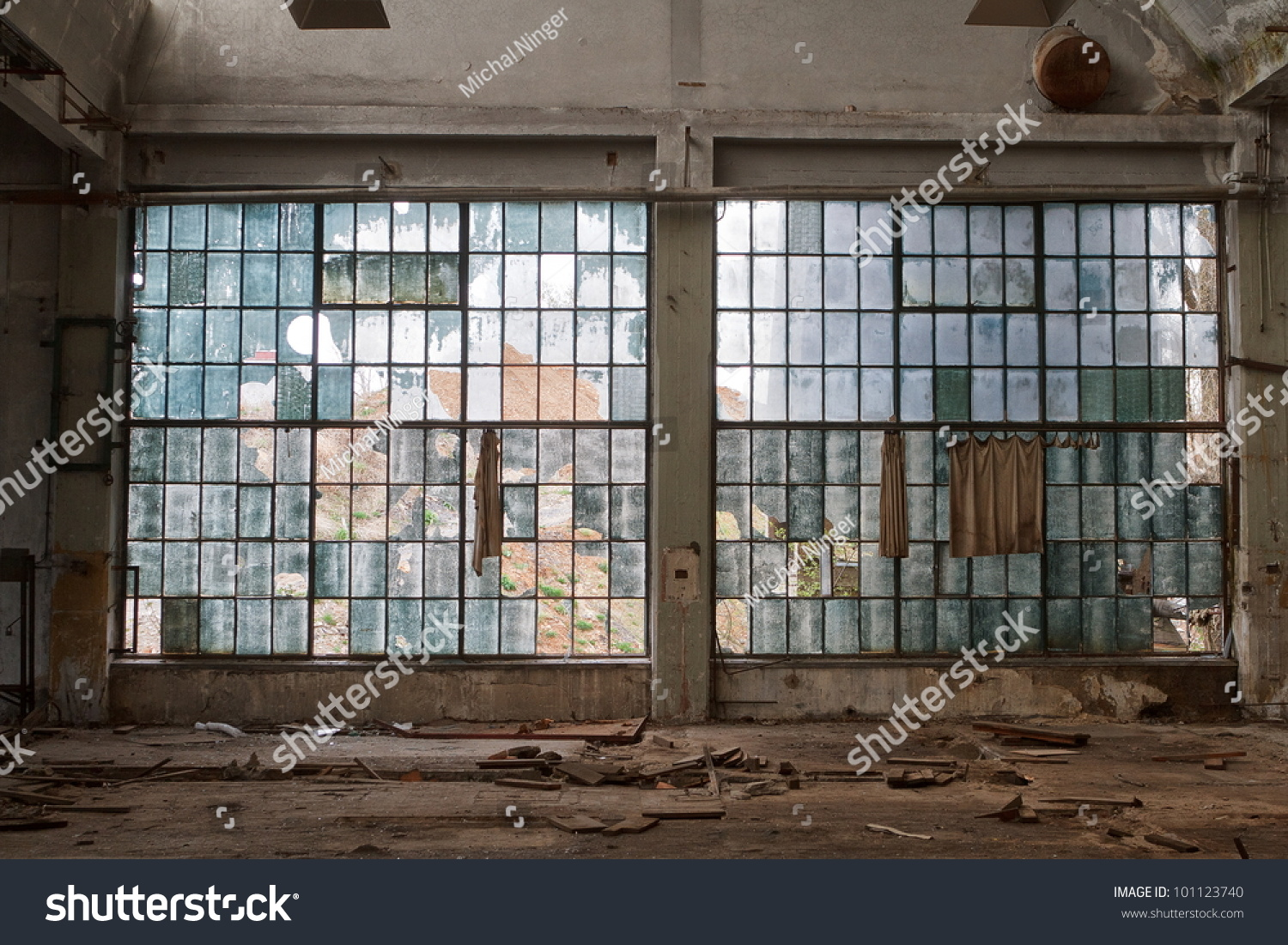 Big windows workshop hall factory stock photo 101123740 for Window factory