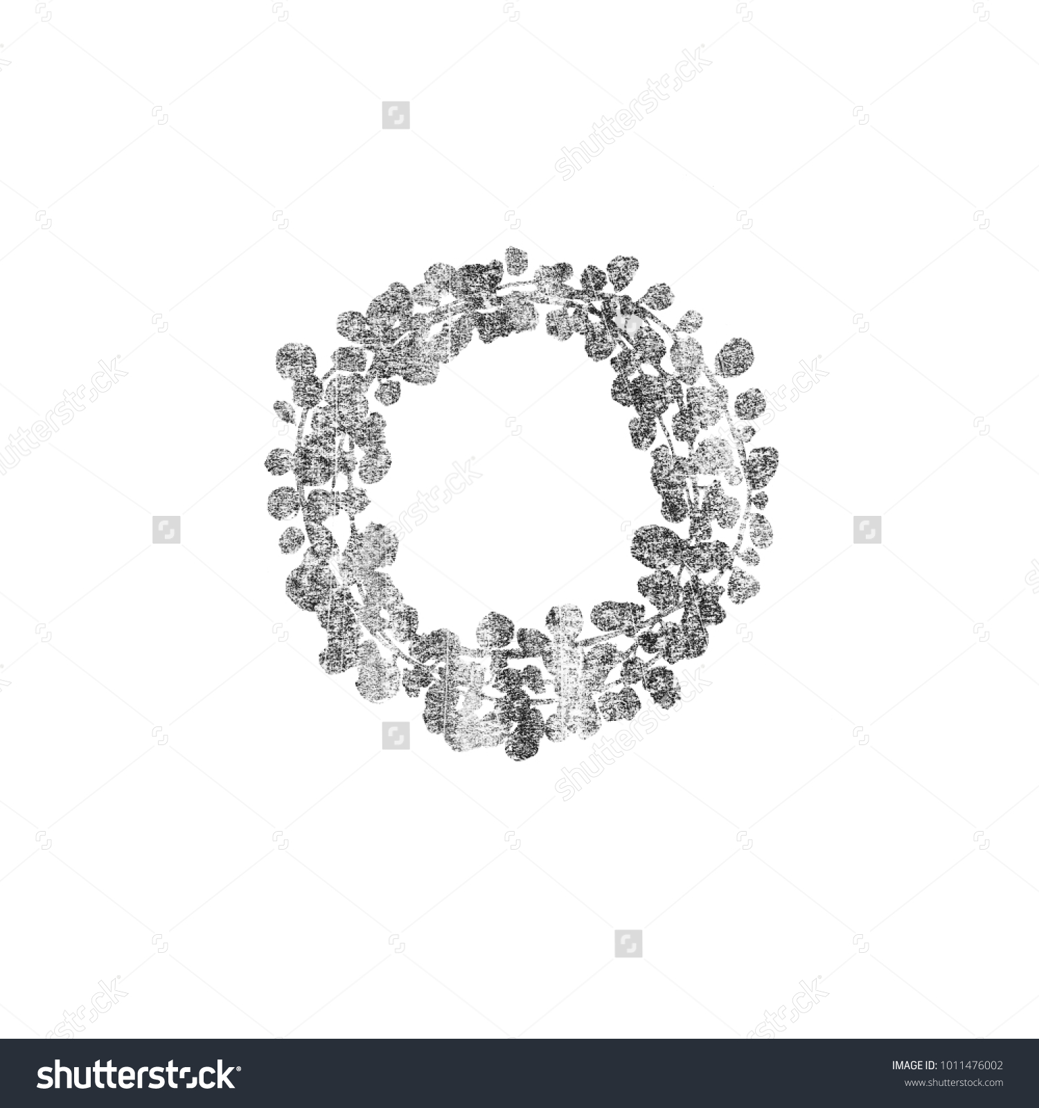 Silver Wedding Rustic Wreath Rural Restaurant Stock Illustration 1011476002