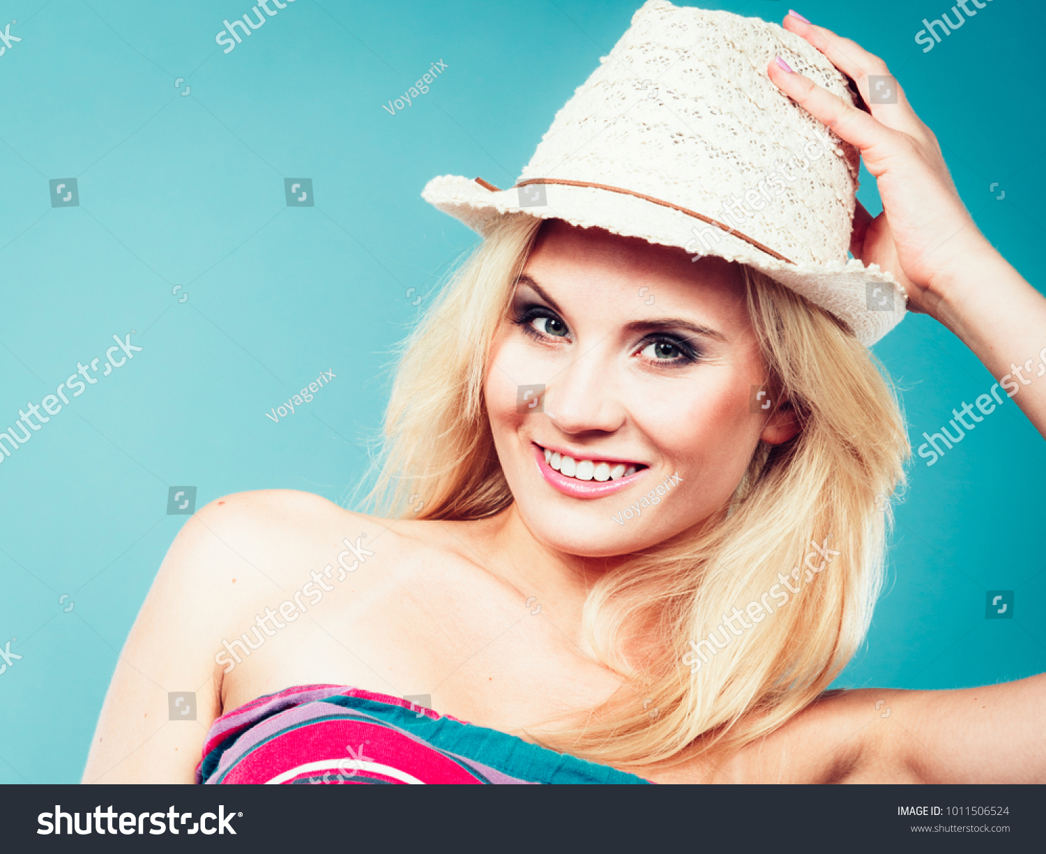Summer Trendy Fashionable Outfit Ideas Concept Stock Photo Edit