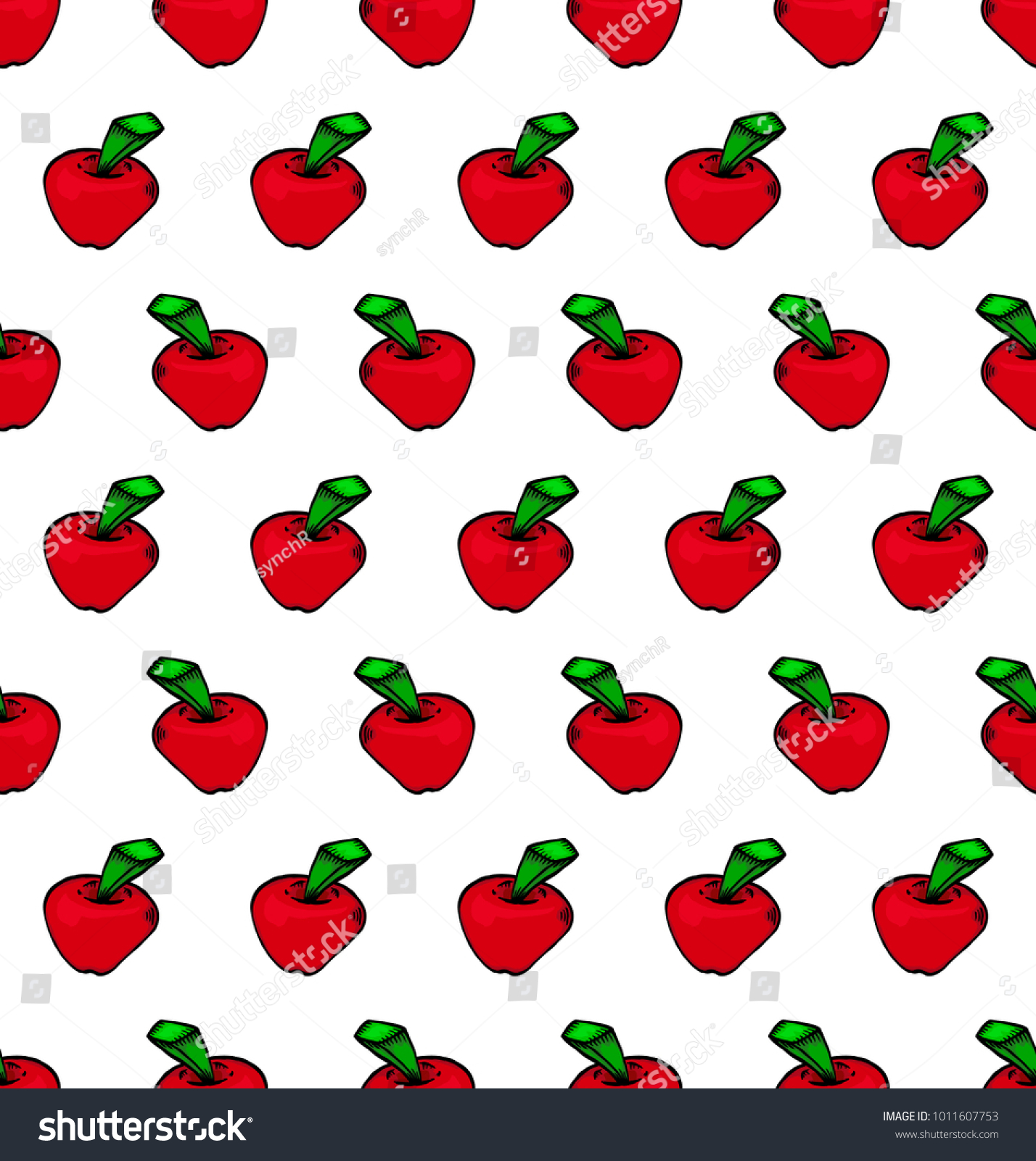 Beautiful Wallpaper Macbook Pattern - stock-vector-seamless-red-apple-pattern-background-wallpaper-texture-isolated-on-white-background-1011607753  Picture_782213.jpg