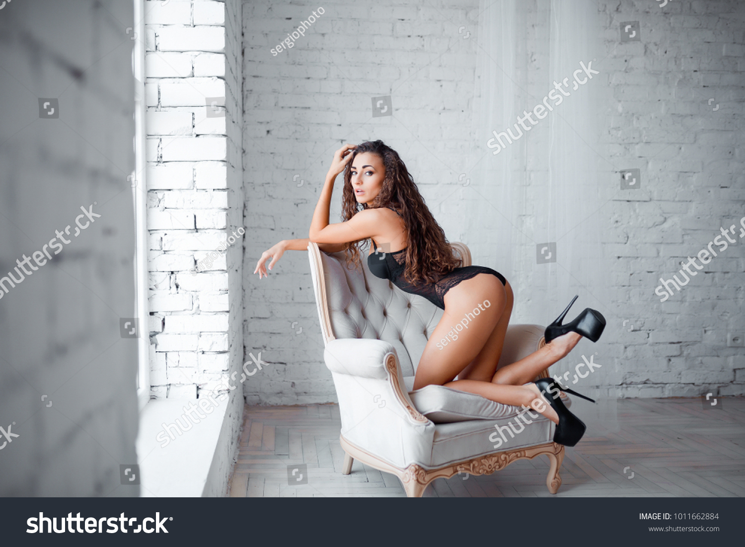 perfect sexy body legs ass young stock photo (royalty free