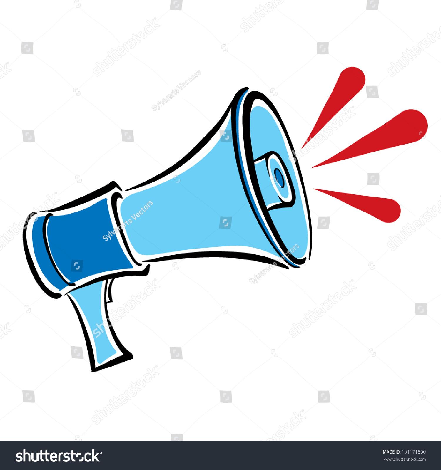 megaphone retro loudspeaker vector illustration stock vector royalty free 101171500 https www shutterstock com image vector megaphone retro loudspeaker vector illustration 101171500