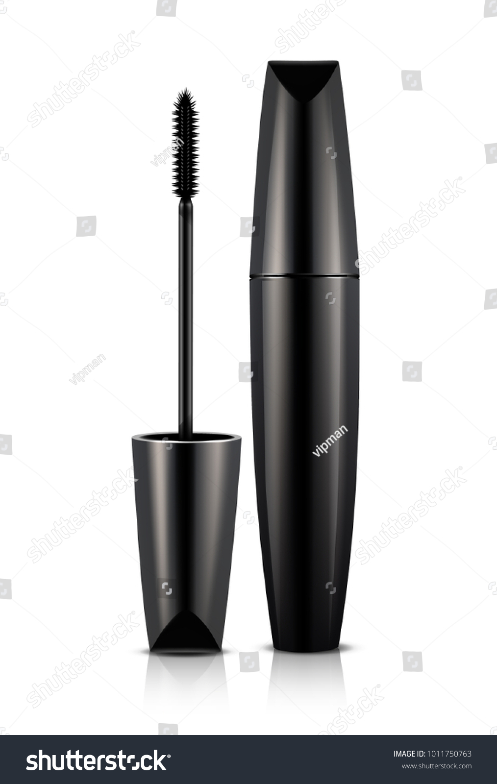 d931268f1ae Mascara Illustration On White Background Stock Vector (Royalty Free ...