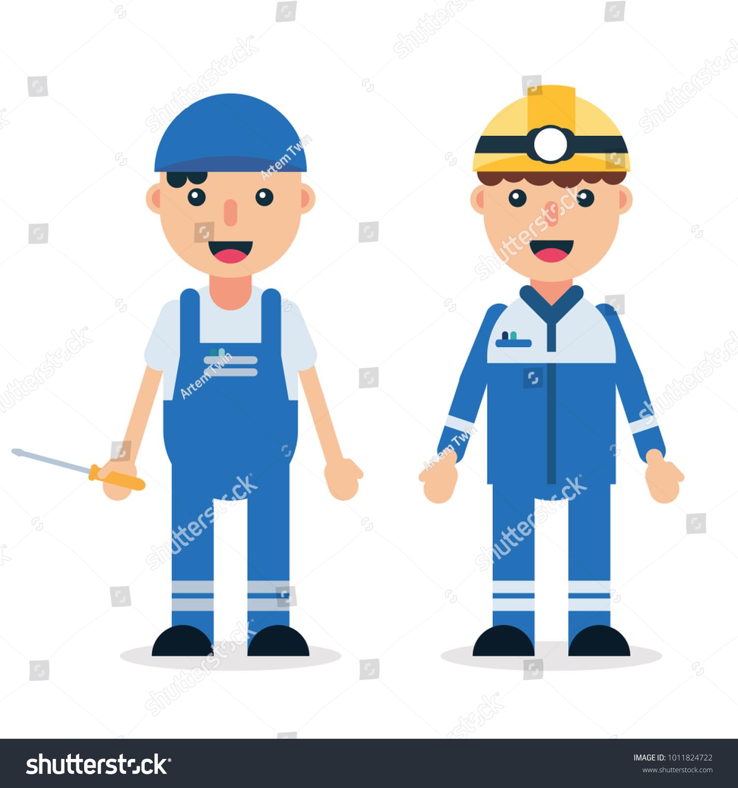 electrician technicianmechanic man professional workers safety rh shutterstock com vektor builders international fort collins