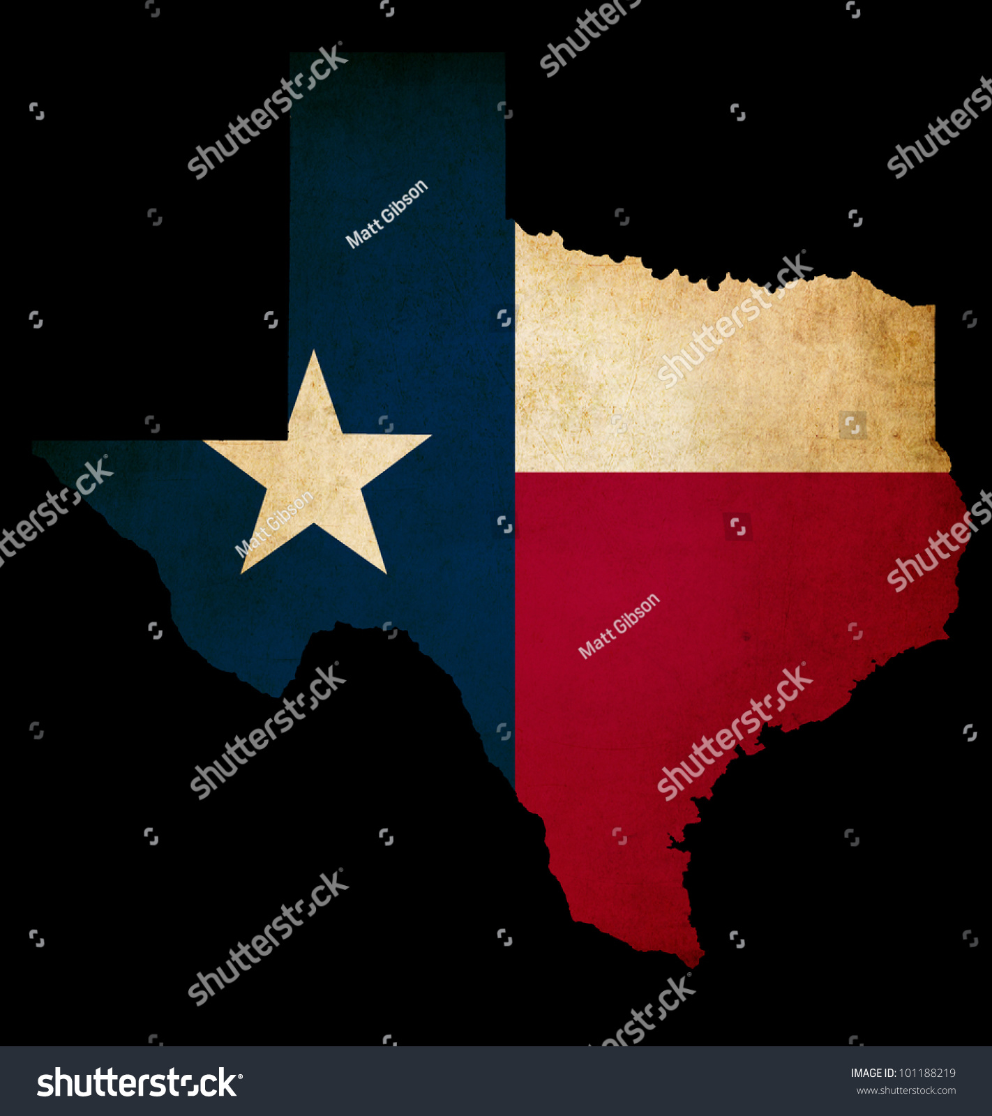 Usa American Texas State Map Outline Stock Illustration - Usa map texas state
