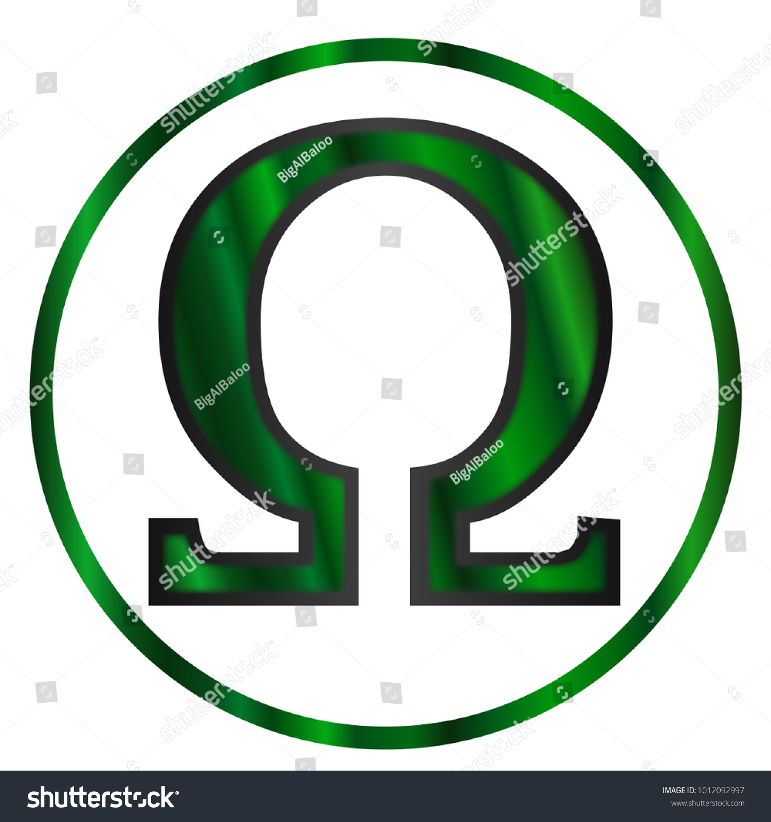 Omega letter greek alphabet isolated over stock illustration omega a letter from the greek alphabet isolated over a white background biocorpaavc Gallery