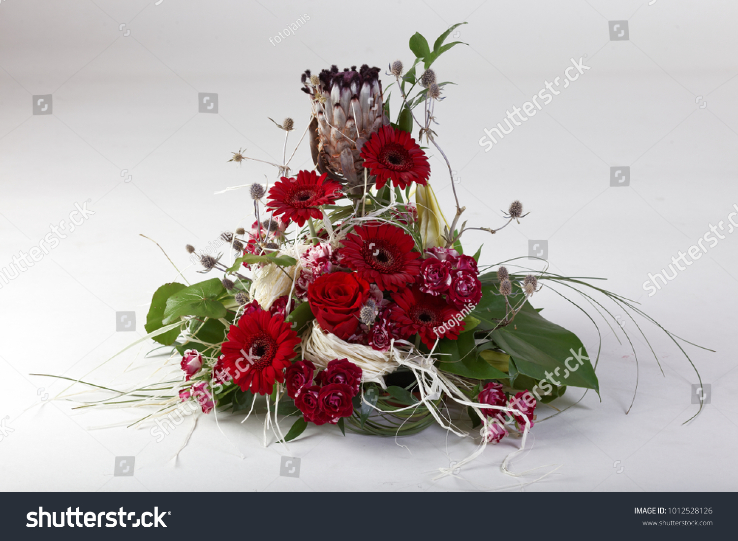 Beautiful Flower Arrangements Winter Spring Summer Stock Photo Edit