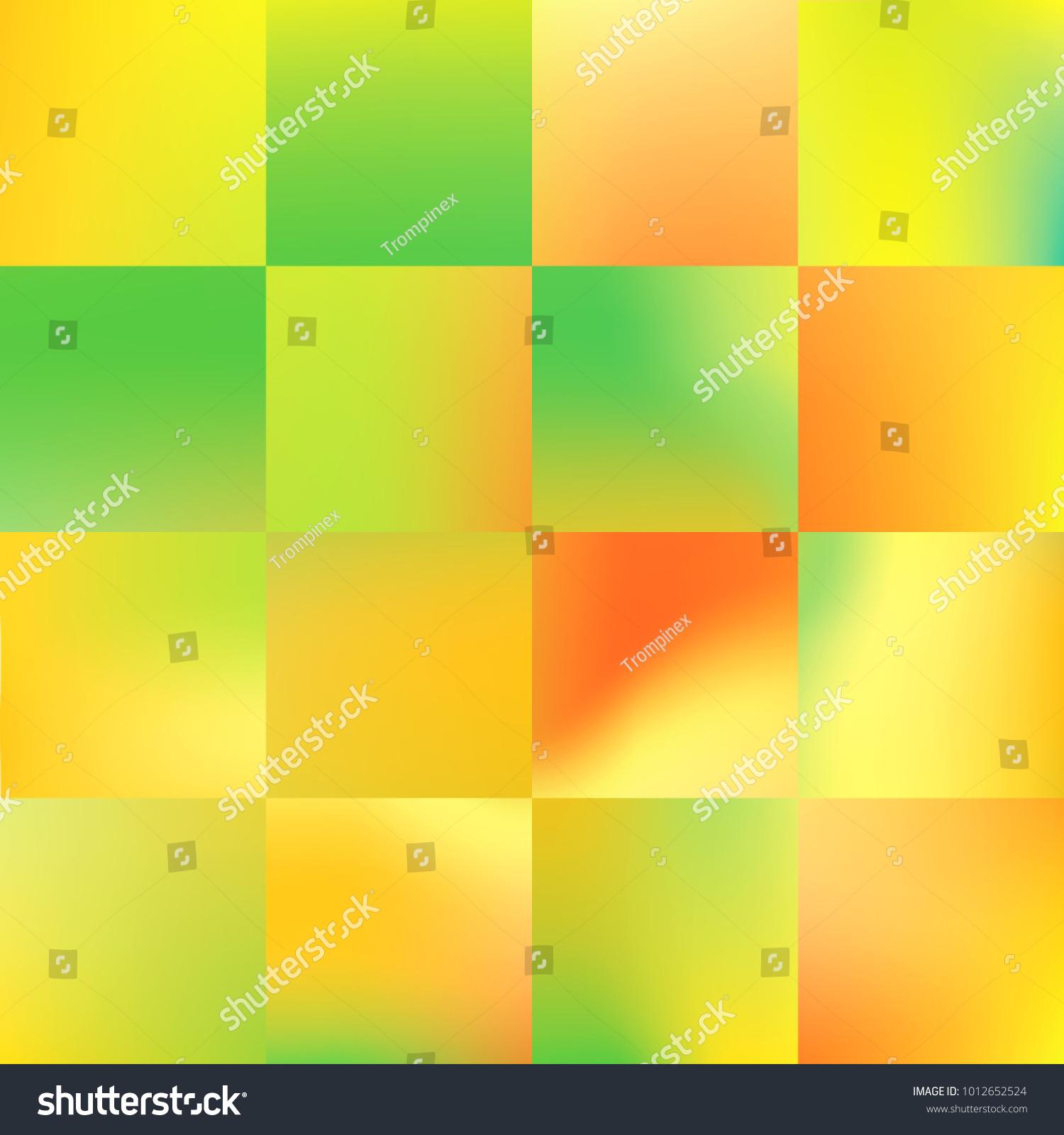 Decorative Tiles Interior Wall Decor Geometric Stock Illustration ...