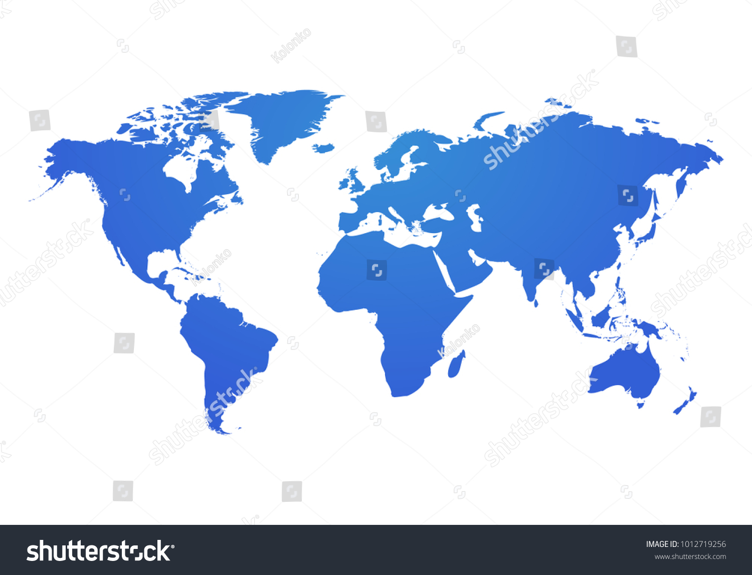 vector world map global earth icon america asia australia africa usa