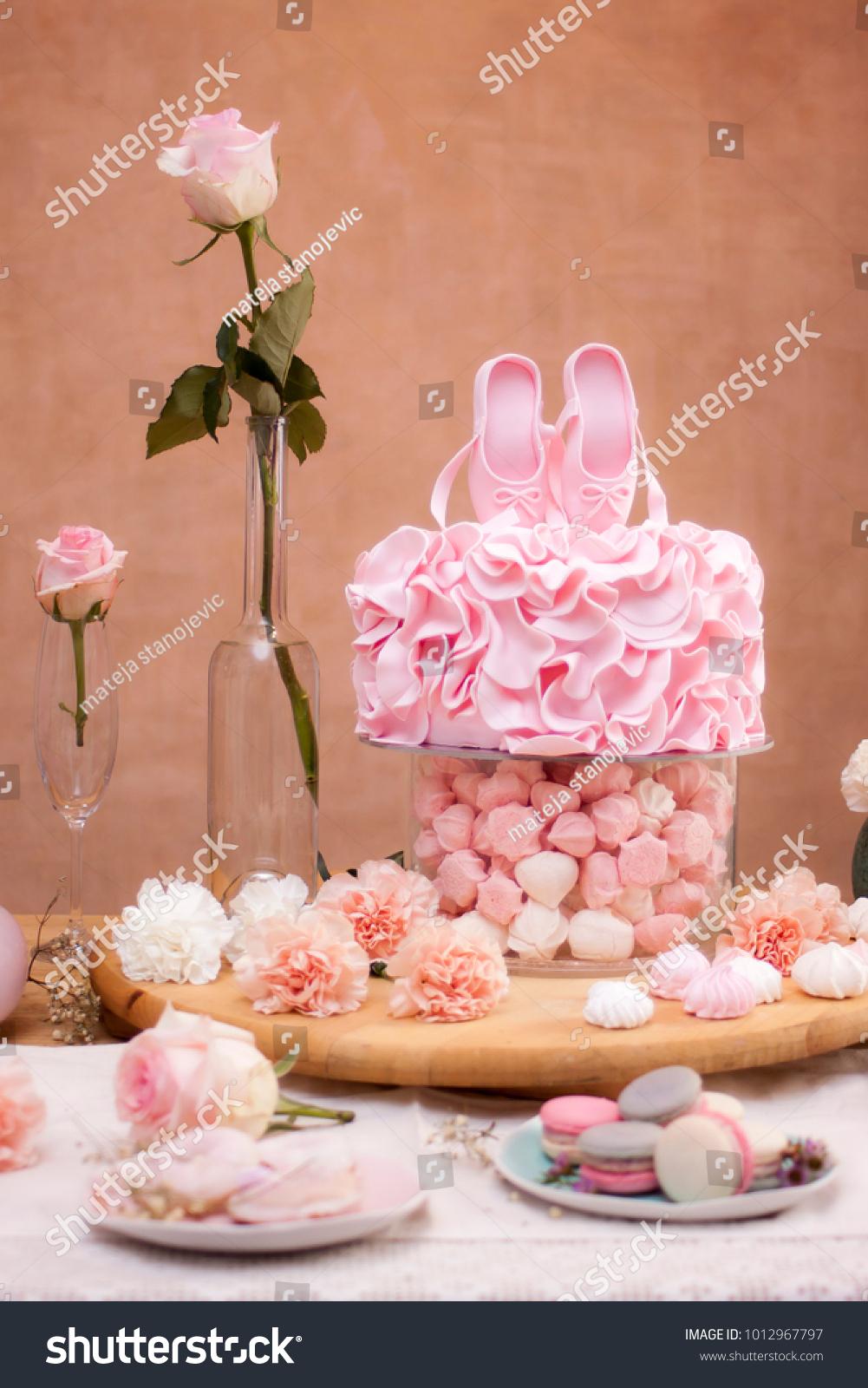 Ballerina birthday themeballerina birthday cakeballerina sweet stock ballerina birthday themeballerina birthday cakeballerina sweet table izmirmasajfo