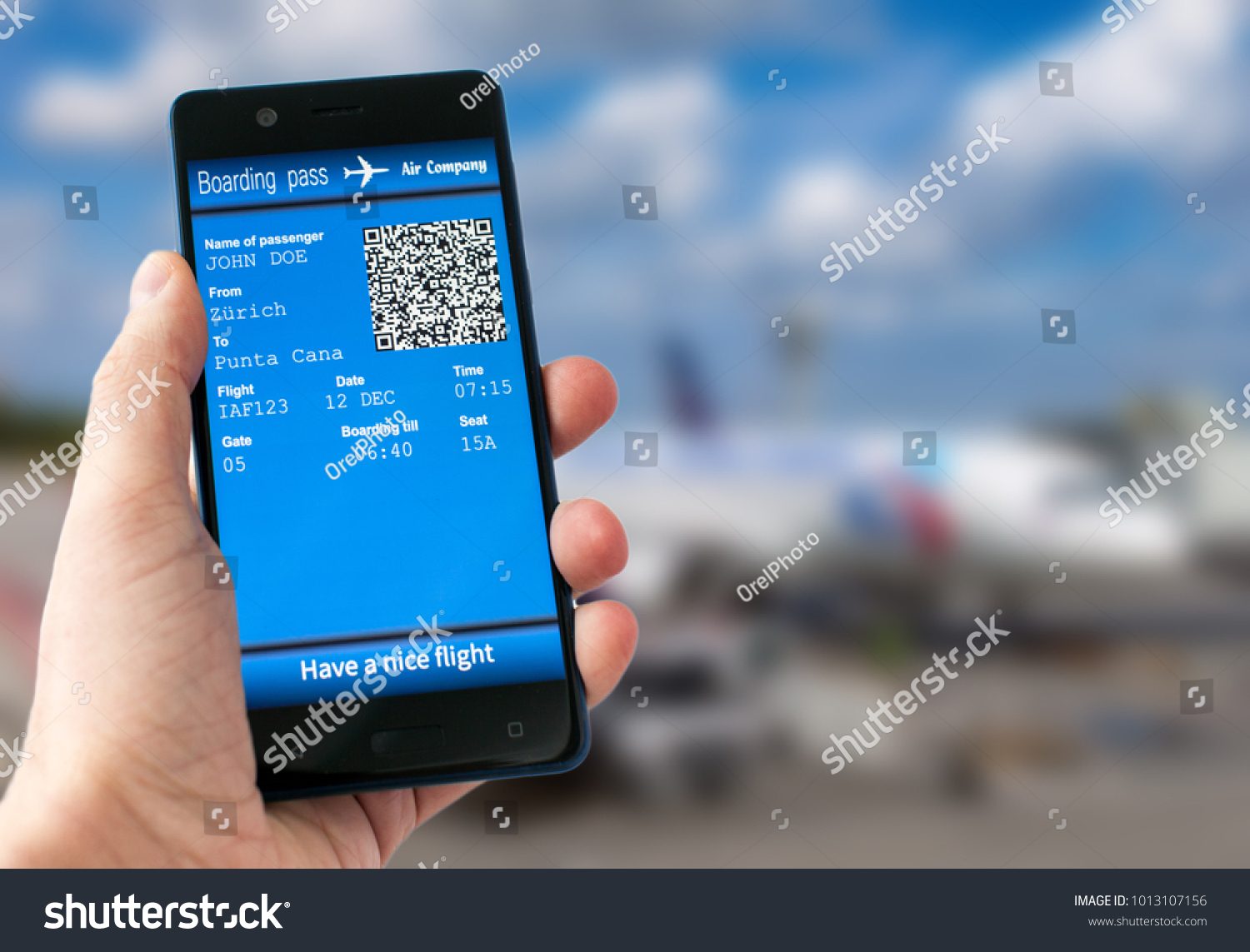 58ffa5e85ac Man Hand Holding Mobile Phone Mobile Stock Photo (Edit Now ...