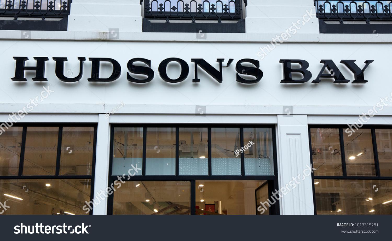 Amsterdam netherlands january 30 2018 facade stock photo amsterdam netherlands january 30 2018 facade of the hudson bay retail store buycottarizona Choice Image