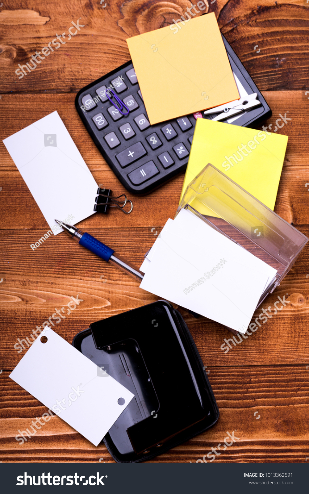 Business Idea Concept Business Card Copy Stock Photo (Safe to Use ...