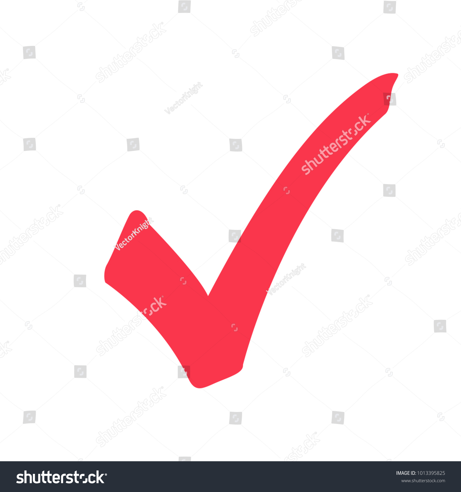 tick icon vector symbol marker red stock photo photo vector rh shutterstock com vector check mark cross check mark vector image