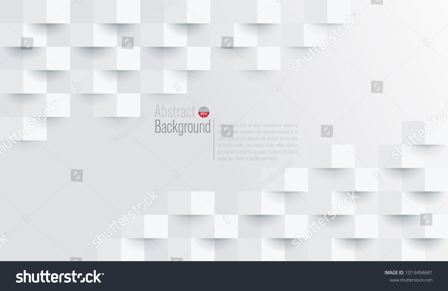 white abstract texture vector background 3 d stock vector royalty